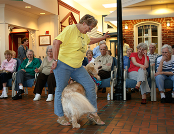 Dancing for a Nursing Home